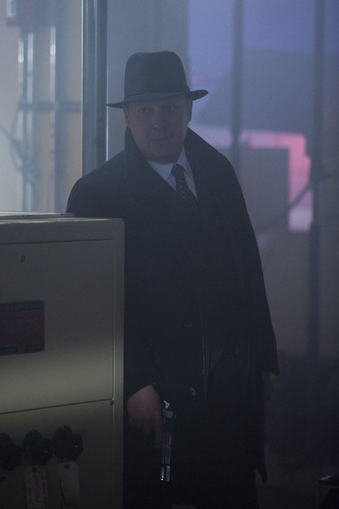 "THE BLACKLIST -- ""The Invisible Hand (#63)"" Episode 513 -- Pictured: James Spader as Raymond ""Red"" Reddington -- (Photo by: Eric Leibowitz/NBC)"