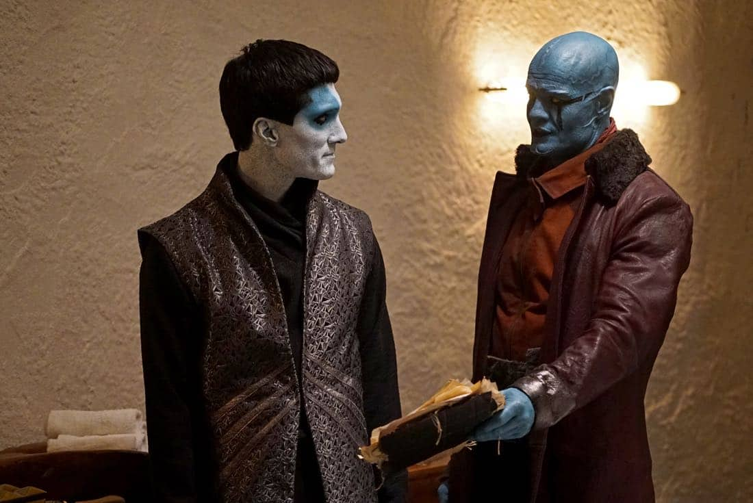 """MARVEL'S AGENTS OF S.H.I.E.L.D. - """"Past Life"""" - S.H.I.E.L.D. has one final chance to return to our timeline, but their actions may have deadly consequences, on """"Marvel's Agents of S.H.I.E.L.D.,"""" FRIDAY, FEB. 2 (9:00-10:01 p.m. EST), on The ABC Television Network.  (ABC/Eric McCandless) DOMINIC RAINS, RYAN R. MOOS"""