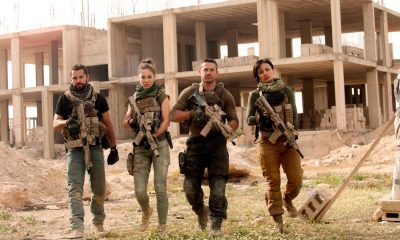 Daniel McPherson, Roxanne McKee, Warren Brown, Alin Sumarwata. photo: Liam Daniel/courtesy of Cinemax