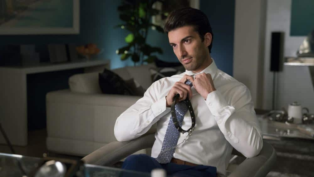 """Jane The Virgin -- """"Chapter Seventy-Three"""" -- Image Number: JAV409b_0008.jpg -- Pictured : Justin Baldoni as Rafael -- Photo: Michael Desmond/The CW -- © 2018 The CW Network, LLC. All Rights Reserved."""