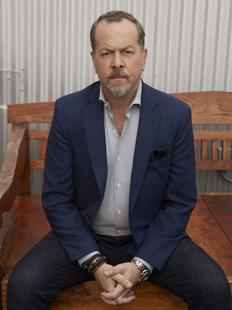 """PR Art for Season 3 of the SHOWTIME original series BILLIONS - Photo: Jim Fiscus/SHOWTIME - Photo ID: BILLIONS_S3_singles_mike-0001.R.jpg Pictured: David Costabile as Mike """"Wags"""" Wagner"""