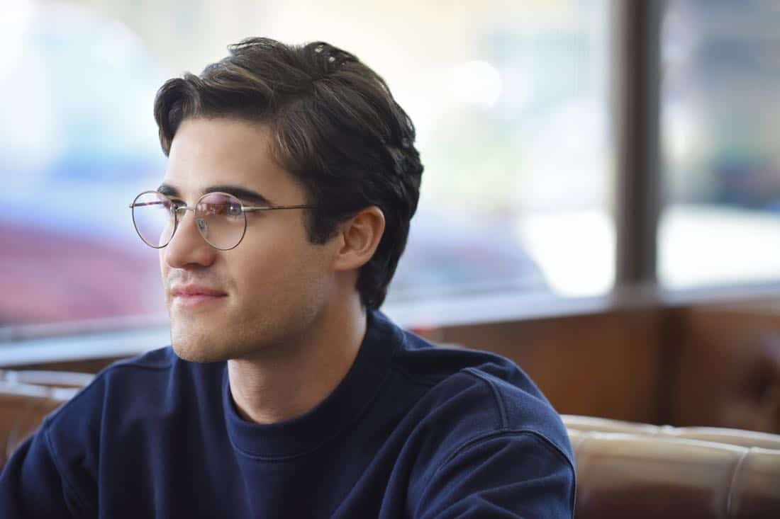 "THE ASSASSINATION OF GIANNI VERSACE: AMERICAN CRIME STORY ""House by the Lake"" Episode 4 (Airs Wednesday, February 7, 10:00 p.m. e/p) -- Pictured: Darren Criss as Andrew Cunanan. CR: Ray Mickshaw/FX"