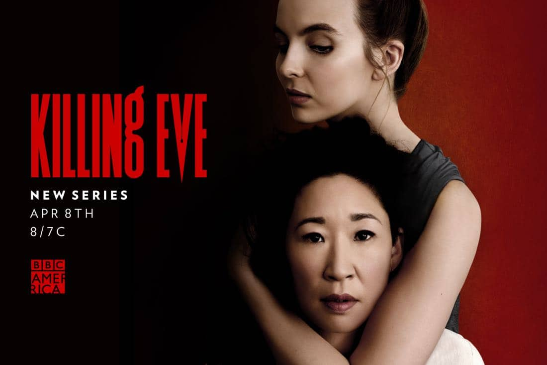 Killing Eve Season 1 Poster Key Art