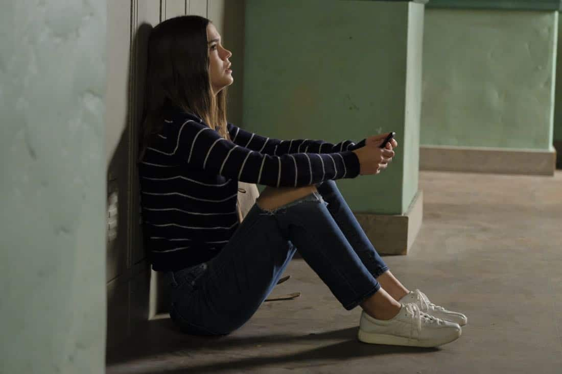 """THE FOSTERS - """"Scars"""" - Callie receives a surprising tip from an unexpected source, meanwhile Jude tries to assuage Noah's fears about his budding relationship with fellow gamer Declan. This episode of """"The Fosters"""" airs Tuesday, Feb. 6 (8:00 - 9:01 p.m. EST) on Freeform. (Freeform/Tony Rivetti)<br />"""