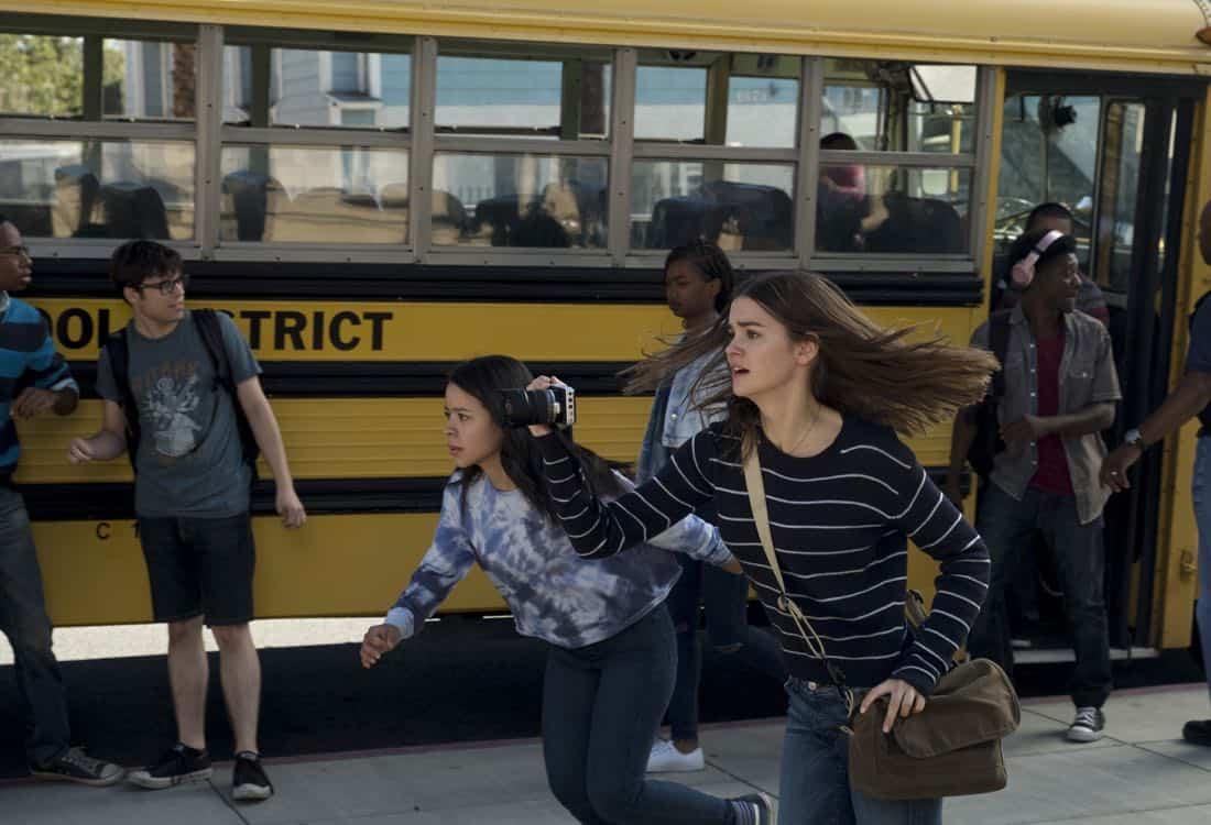 """THE FOSTERS - """"Scars"""" - Callie receives a surprising tip from an unexpected source, meanwhile Jude tries to assuage Noah's fears about his budding relationship with fellow gamer Declan. This episode of """"The Fosters"""" airs Tuesday, Feb. 6 (8:00 - 9:01 p.m. EST) on Freeform. (Freeform/Tony Rivetti)"""