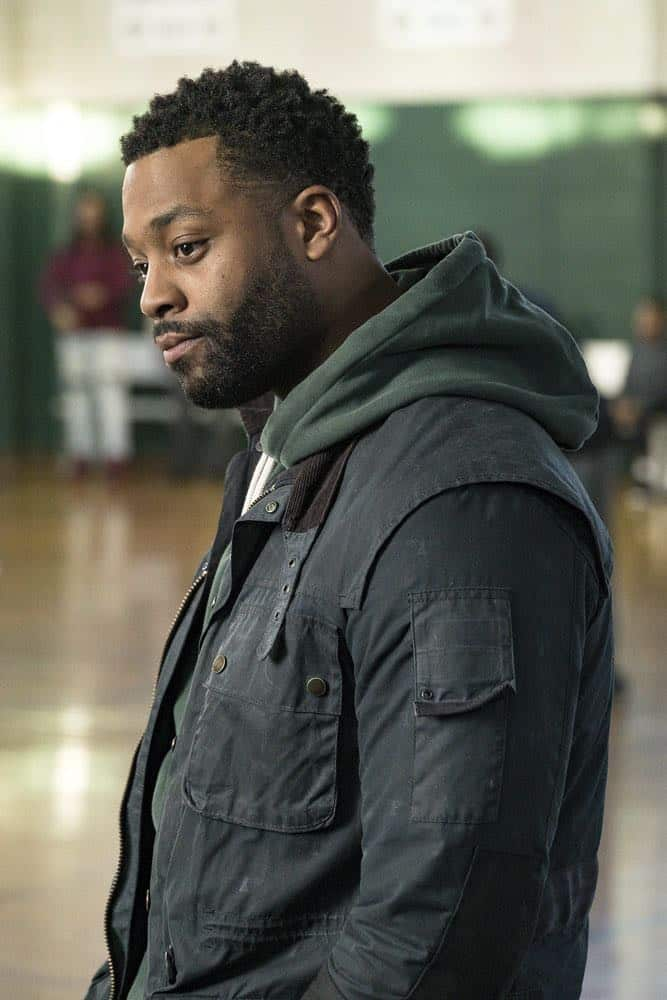 "CHICAGO P.D. -- ""Anthem"" Episode 514 -- Pictured: LaRoyce Hawkins as Kevin Atwater -- (Photo by: Matt Dinerstein/NBC)"