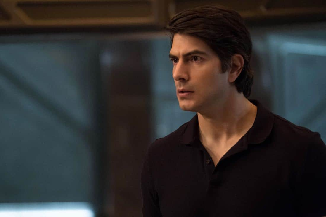 "DC's Legends of Tomorrow -- ""Daddy Darhkest"" -- Image Number: LGN310a_0222b.jpg -- Pictured: Brandon Routh as Ray Palmer/Atom -- Photo: Jeff Weddell/The CW -- © 2018 The CW Network, LLC. All Rights Reserved."