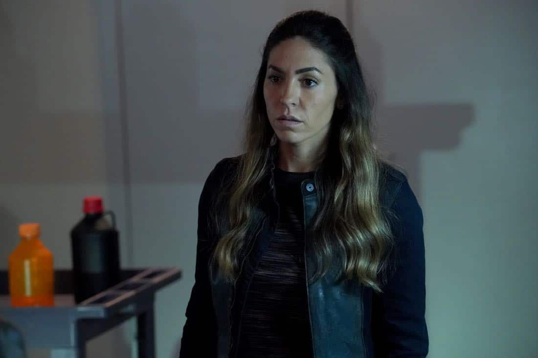 """MARVEL'S AGENTS OF S.H.I.E.L.D. - """"All the Comforts of Home"""" - Coulson and team set out to rewrite the course of humanity's fate, but they're unaware that their efforts will dramatically change one S.H.I.E.L.D agent's life, on """"Marvel's Agents of S.H.I.E.L.D.,"""" FRIDAY, MARCH 2 (9:01-10:01 p.m. EST), on The ABC Television Network. (ABC/Byron Cohen) NATALIA CORDOVA-BUCKLEY"""