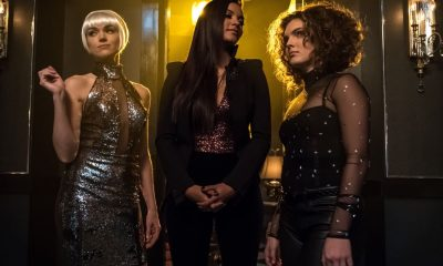 "GOTHAM: L-R: Erin Richards, Jessica Lucas and Camren Bicondova in the ""Pieces Of A Broken Mirror"" spring premiere episode of GOTHAM airing Thursday, Mar. 1 (8:00-9:00 PM ET/PT) on FOX. ©2018 Fox Broadcasting Co. Cr: Jeff Neumann/FOX"