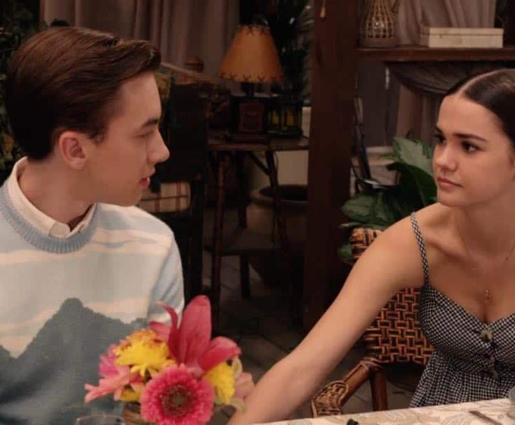 """THE FOSTERS - """"Mother's Day"""" - Stef's mom comes to visit and helps Stef cope with a tough time. Meanwhile, Callie and Jude grapple with the memory of their biological mother. This episode of """"The Fosters"""" airs Tuesday, February 13 (8:00 - 9:01 p.m. EST) on Freeform. (Freeform) HAYDEN BYERLY, MAIA MITCHELL"""