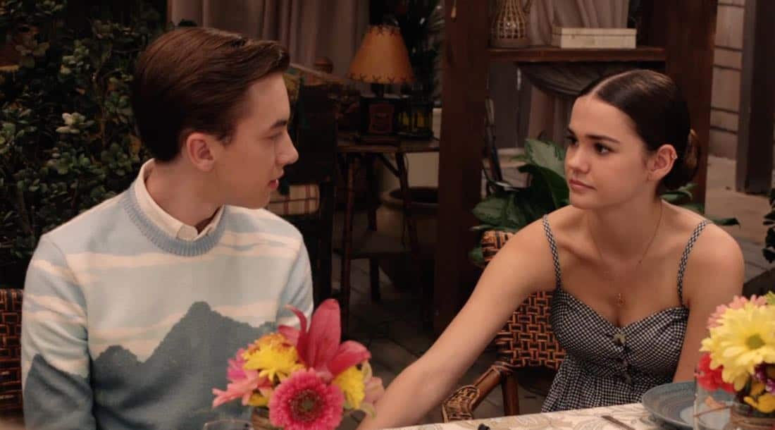 "THE FOSTERS - ""Mother's Day"" - Stef's mom comes to visit and helps Stef cope with a tough time. Meanwhile, Callie and Jude grapple with the memory of their biological mother. This episode of ""The Fosters"" airs Tuesday, February 13 (8:00 - 9:01 p.m. EST) on Freeform. (Freeform) HAYDEN BYERLY, MAIA MITCHELL"