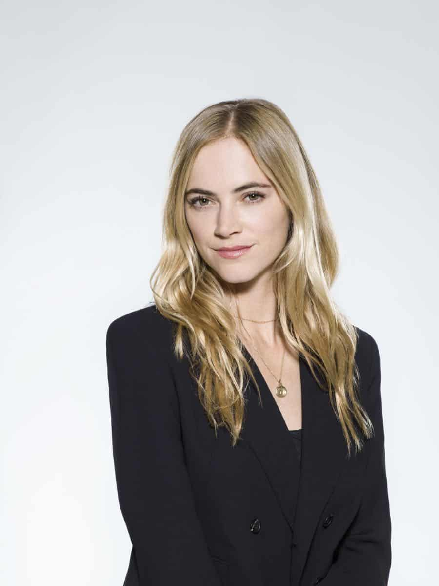Emily Wickersham of the CBS series NCIS, scheduled to air on the CBS Television Network. Photo: Kevin Lynch/CBS © 2017 CBS Broadcasting Inc. All Rights Reserved.