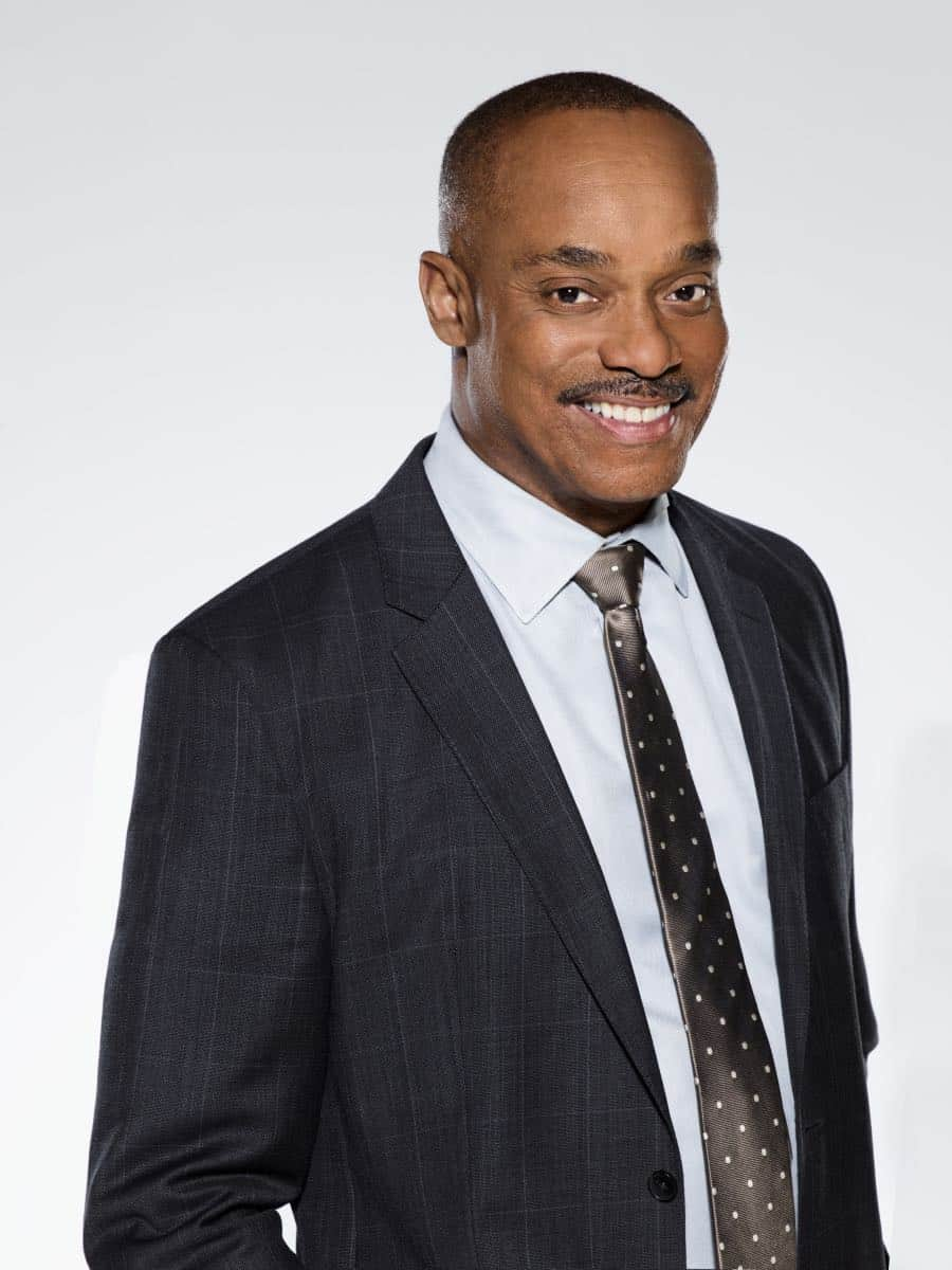 Rocky Carroll of the CBS series NCIS, scheduled to air on the CBS Television Network. Photo: Kevin Lynch/CBS © 2017 CBS Broadcasting Inc. All Rights Reserved.