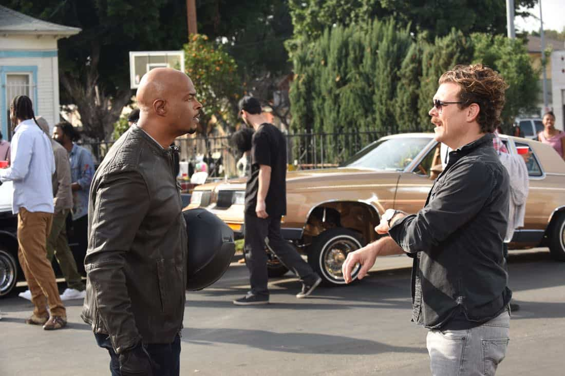 "LETHAL WEAPON: Pictured L-R: Damon Wayans and Clayne Crawford in the ""Ruthless"" episode of LETHAL WEAPON airing Tuesday, Feb. 27 (8:00-9:00 PM ET/PT) on FOX. ©2018 Fox Broadcasting Co. CR: Ray Mickshaw/FOX"