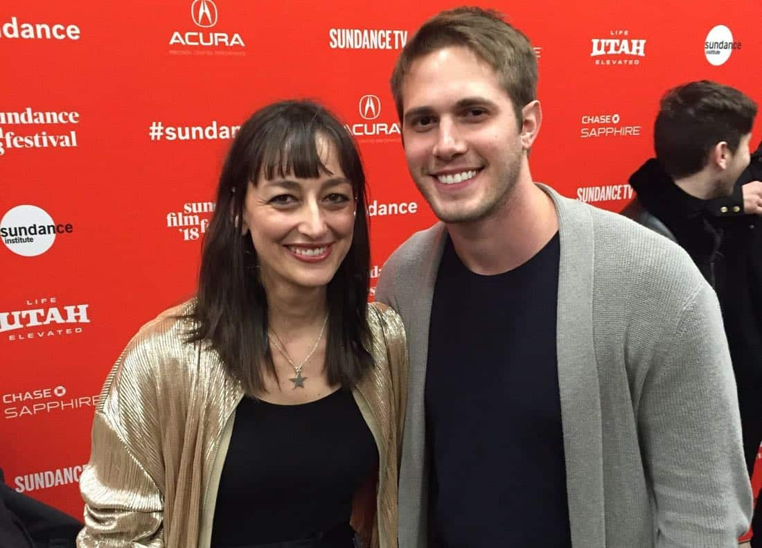 Composer-Anne-Nikitin-with-Actor-Blake-Jenner