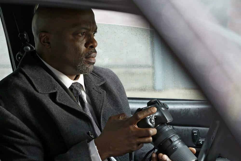 "THE BLACKLIST -- ""Mr. Raleigh Sinclair III (#51)"" Episode 514 -- Pictured: Evan Parke as Norman Singleton -- (Photo by: Will Hart/NBC)"