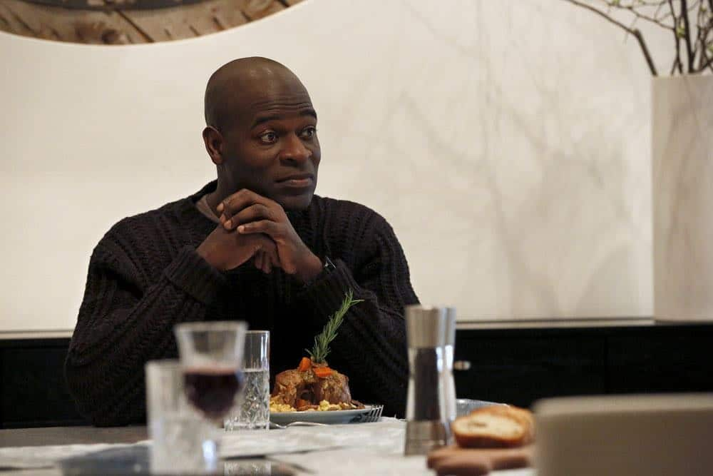 "THE BLACKLIST -- ""Mr. Raleigh Sinclair III (#51)"" Episode 514 -- Pictured: Hisham Tawfiq as Dembe Zuma -- (Photo by: Will Hart/NBC)"