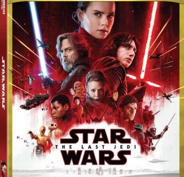 Star Wars The Last Jedi 4k Bluray Box Cover Artwork