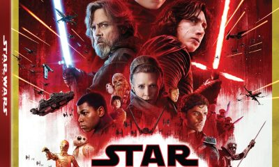 Star Wars The Last Jedi 4k Bluray Box Cover Artwork