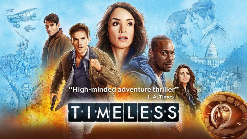 Resultado de imagem para Timeless season 2 posters