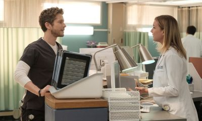 """THE RESIDENT: L-R: Matt Czuchry and Emily VanCamp in the """"No Matter The Cost"""" episode of THE RESIDENT airing Monday, March 5 (9:00-10:00 PM ET/PT) on FOX. ©2018 Fox Broadcasting Co. Cr: Guy D'Alema/FOX"""