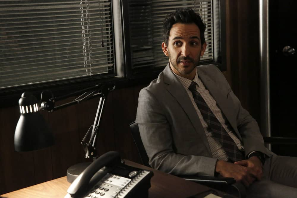 "THE BLACKLIST -- ""Pattie Sue Edwards  (#68)"" Episode 515 -- Pictured: Amir Arison as Aram Mojtabai -- (Photo by: Will Hart/NBC)"