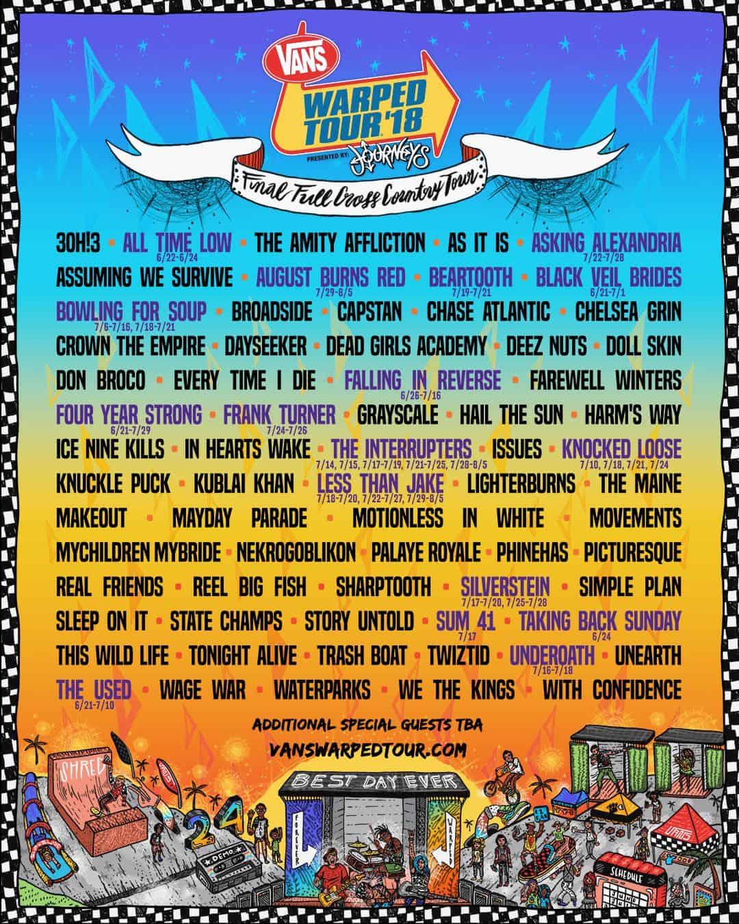 2018-Vans-Warped-Tour-Poster
