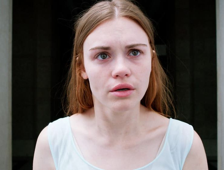 """CHANNEL ZERO: BUTCHER'S BLOCK -- """"The Red Door"""" Episode 305 -- Pictured: Holland Roden as Zoe Woods -- (Photo by: Syfy)"""