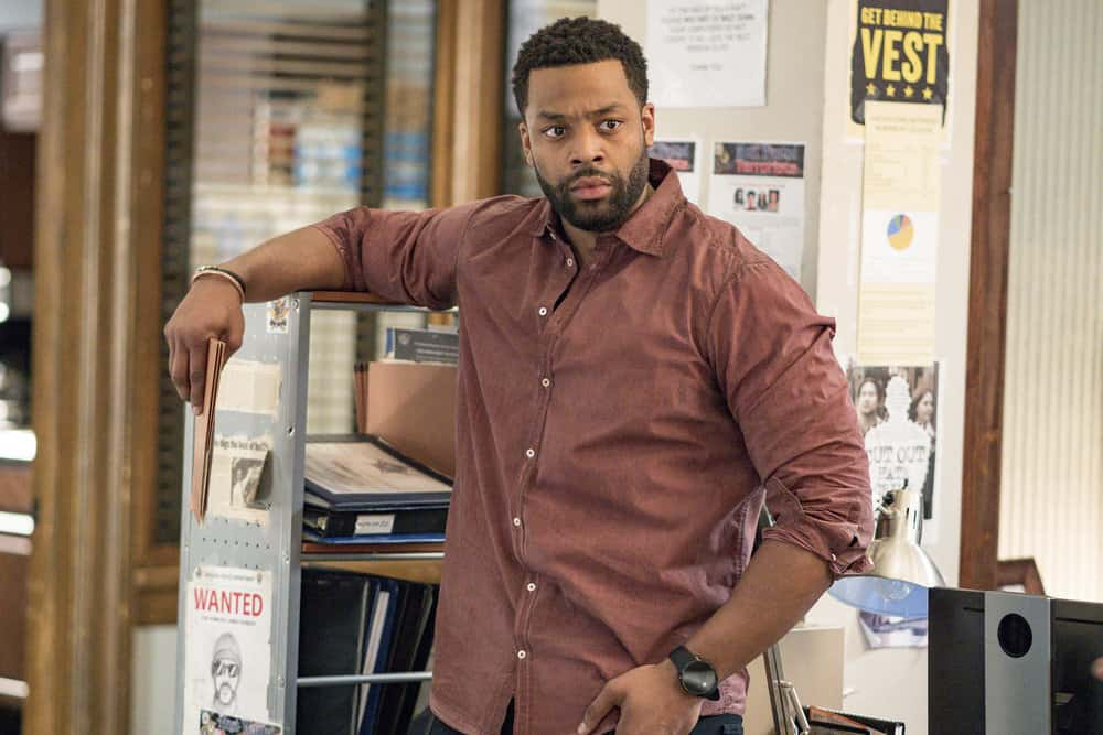 "CHICAGO P.D. -- ""Profiles"" Episode 516 -- Pictured: LaRoyce Hawkins as Kevin Atwater -- (Photo by: Matt Dinerstein/NBC)"