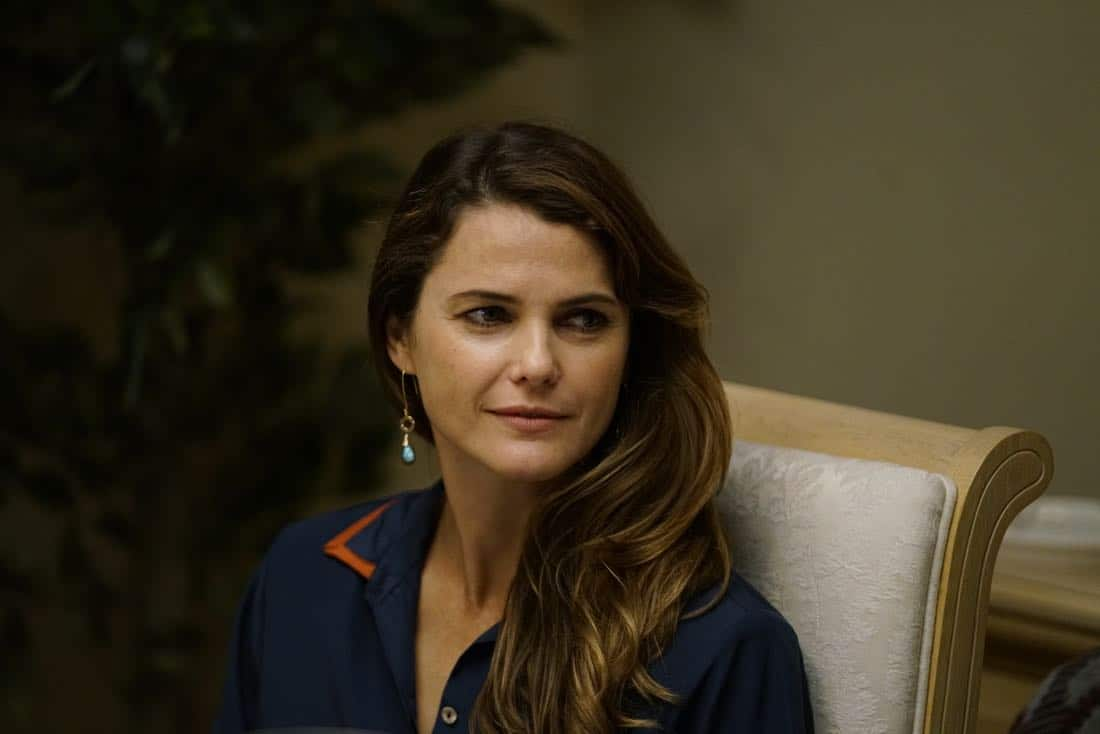 "THE AMERICANS -- ""Dead Hand"" -- Season 6, Episode 1 (Airs Wednesday, March 28, 10:00 pm/ep) -- Pictured: Keri Russell as Elizabeth Jennings. CR: Patrick Harbron/FX"