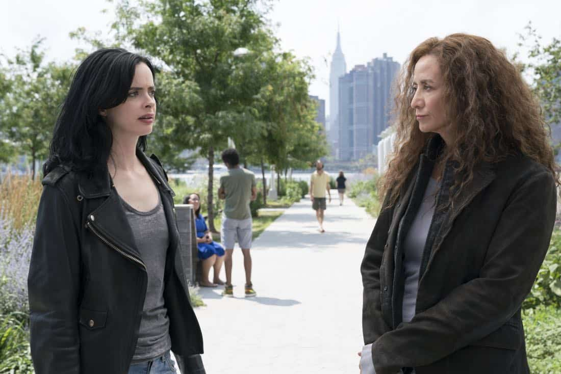 Krysten Ritter and Janet McTeer Marvel's Jessica Jones Season 2 | Photo Credit : David Giesbrecht/Netflix