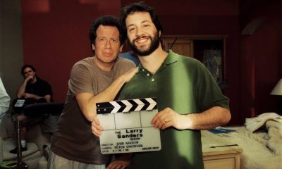 Garry Shandling, Judd Apatow. photo: Larry Watson/HBO