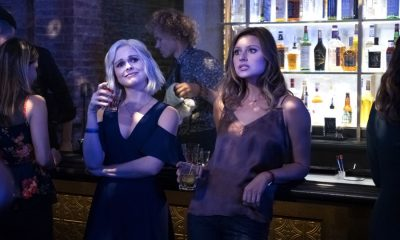 "iZombie -- ""Brainless in Seattle, Part 1"" -- Image Number: ZMB403b_0433.jpg -- Pictured (L-R): Rose McIver as Liv and Aly Michalka as Peyton -- Photo: Michael Courtney/The CW -- © 2018 The CW Network, LLC. All Rights Reserved."