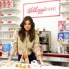 Hailee Steinfeld enjoys unique cereal creations created by Kellogg's. Credit: Sara Jaye Weiss