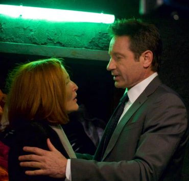 "THE X-FILES: L-R: Gillian Anderson and David Duchovny in the ""Nothing Lasts Forever"" episode of THE X-FILES airing Wednesday, March 14 (8:00-9:00 PM ET/PT) on FOX. ©2018 Fox Broadcasting Co. Cr: Shane Harvey/FOX"
