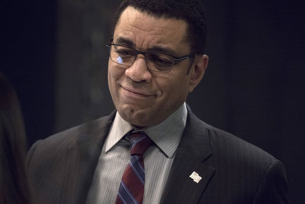 "THE BLACKLIST -- ""The Capricorn Killer"" Episode 516 -- Pictured: Harry Lennix as Harold Cooper -- (Photo by: Virginia Sherwood/NBC)"