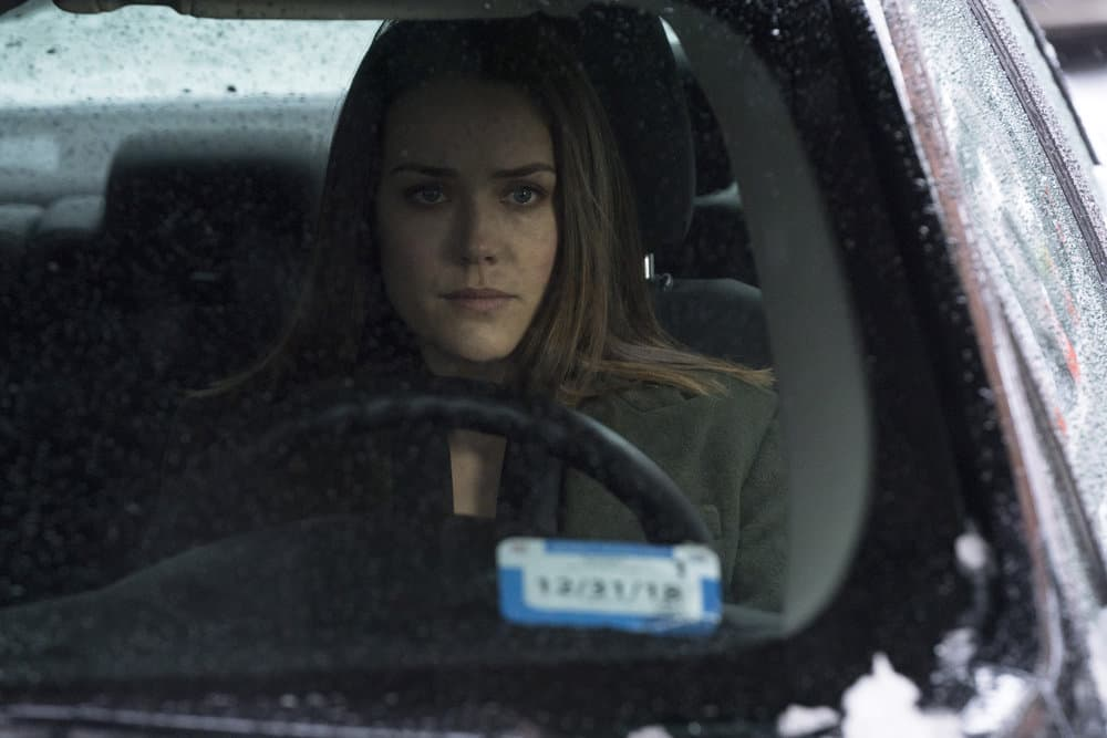 "THE BLACKLIST -- ""The Capricorn Killer"" Episode 516 -- Pictured: Megan Boone as Elizabeth Keen -- (Photo by: Virginia Sherwood/NBC)"