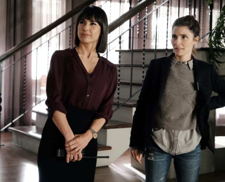 UnREAL (L to R) Constance Zimmer and Shiri Appleby star in Season 3 of Lifetime's hit drama UnREAL, airing Monday, March 12, 2018 at 10pm ET/PT. Photo by Bettina Strauss Copyright 2018