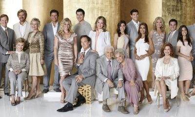 DAYS OF OUR LIVES -- Season: 50 -- Pictured: (l-r) Eric Martsolf as Brady Black, Judie Evans as Adrien Kiriakis, Jen Lilley as Thersea Donovan, John Aniston as Victor Kiriakis, Meredith Scott Lynn as Anne Milbauer, Josh Taylor as Roman Brady, Peggy McCay as Caroline Brady, Stephen Nichols as Steven Johnson, Mary Beth Evans as Kayla Brady, Greg Vaughan as Eric Brady, Alison Sweeney as Sami Brady, Drake Hogestyn as John Black, Christopher Sean as Paul Narita, Deidre Hall as Dr. Marlena Evans, Bill Hayes as Doug Williams, Susan Hayes as Julie Willimas, Kate Mansi as Abigail Deveraux, Robert Scott Wilson as Ben Rogers, Kristian Alfonso as Hope Brady, Missy Reeves as Jennifer Horton, Suzanne Rogers as Maggie Horton, Casey Moss as JJ Deveraux, Camila Banus as Gabi Hernandez, James Reynolds as Abe Carver, Sal Stowers as Lani, A. Martinez as Eduardo, Thaao Penghlis as Tony DiMera, Bryan Dattilo as Lucas Roberts, Lauren Koslow as Kate Roberts, Joe Mascolo as Stefano DiMero, Billy Flynn as Chad DiMero -- (Photo by: Chris Haston/NBC/NBCU Photo Bank via Getty Images)