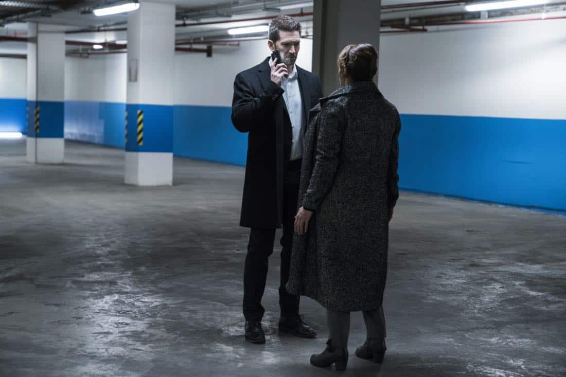 """""""Three Wishes"""" -- When Eric's daughter is kidnapped, he must fulfill three ransom demands from his long-time adversary, Damien Delaine (Carlo Rota), which include answering a series of emotionally challenging questions and performing ethically questionable tasks, in order to save what matters to him most -- his daughter's life -- on the second season premiere of RANSOM, Saturday, April 7 (8:00-9:00 PM, ET/PT) on the CBS Television Network.      Pictured: Luke Roberts (Eric Beaumont)    Photo: Dávid Lukács © 2018 Ransom Television Productions Inc."""