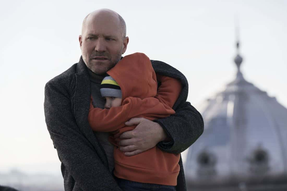 """""""Three Wishes"""" -- When Eric's daughter is kidnapped, he must fulfill three ransom demands from his long-time adversary, Damien Delaine (Carlo Rota), which include answering a series of emotionally challenging questions and performing ethically questionable tasks, in order to save what matters to him most -- his daughter's life -- on the second season premiere of RANSOM, Saturday, April 7 (8:00-9:00 PM, ET/PT) on the CBS Television Network.      Pictured: Robert B. Kennedy (Armin Farber), Zalán Szántó (Tad Farber)    Photo: Dávid Lukács © 2018 Ransom Television Productions Inc."""