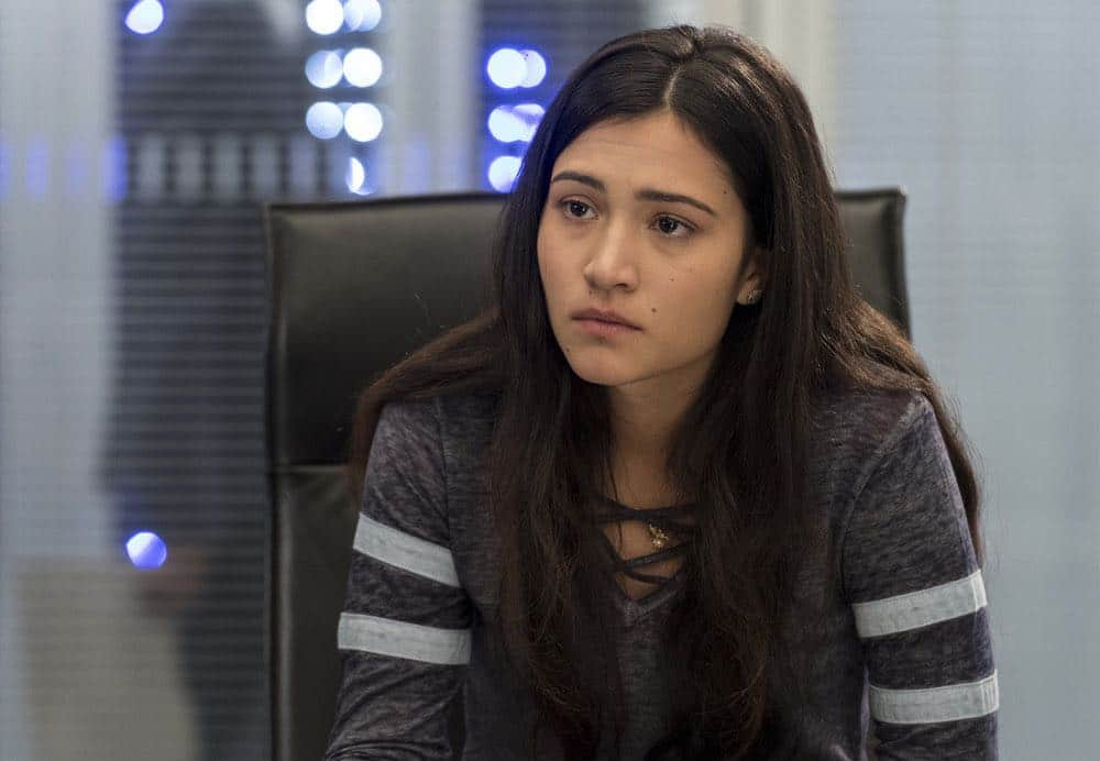 """BLINDSPOT -- """"Deductions"""" Episode 315 --  Pictured: Kristina Reyes as Avery -- (Photo by: David Giesbrecht/NBC)"""