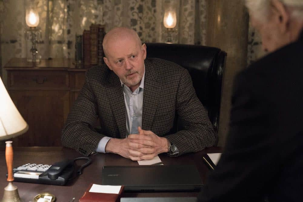 """BLINDSPOT -- """"Deductions"""" Episode 315 --  Pictured: David Morse as Hank Crawford -- (Photo by: David Giesbrecht/NBC)"""