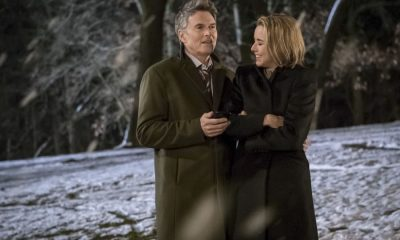 """Reading the Signs"" -- Elizabeth seeks creative solutions when the president of Sri Lanka's psychic convinces him to not move forward with a trade agreement with the U.S. Also, Alison grapples with guilt for missing the warning signs after her college roommate attempts suicide, and Henry makes an abrupt career decision, on MADAM SECRETARY, Sunday, March 11 (10:00-11:00 PM, ET/PT) on the CBS Television Network. Pictured (L-R): Tim Daly as Henry McCord and Téa Leoni as Elizabeth McCord. Photo: Jeff Neumann/CBS ©2018 CBS Broadcasting, Inc. All Rights Reserved"
