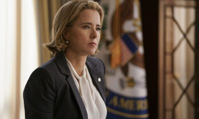 """Refuge"" -- Jay and Kat devise a way to help persecuted foreign LGBTQ citizens escape their country while their U.S. homeland security applications are processed. However, when the country closes its borders, Jay and Kat are forced to change that plan quickly, as it could now threaten their relationship with neighboring allies, on MADAM SECRETARY, Sunday, March 18 (10:00-11:00 PM, ET/PT) on the CBS Television Network. Pictured: Téa Leoni as Elizabeth McCord. Photo: Sarah Shatz/CBS 2018©CBS Broadcasting Inc. All Rights Reserved"