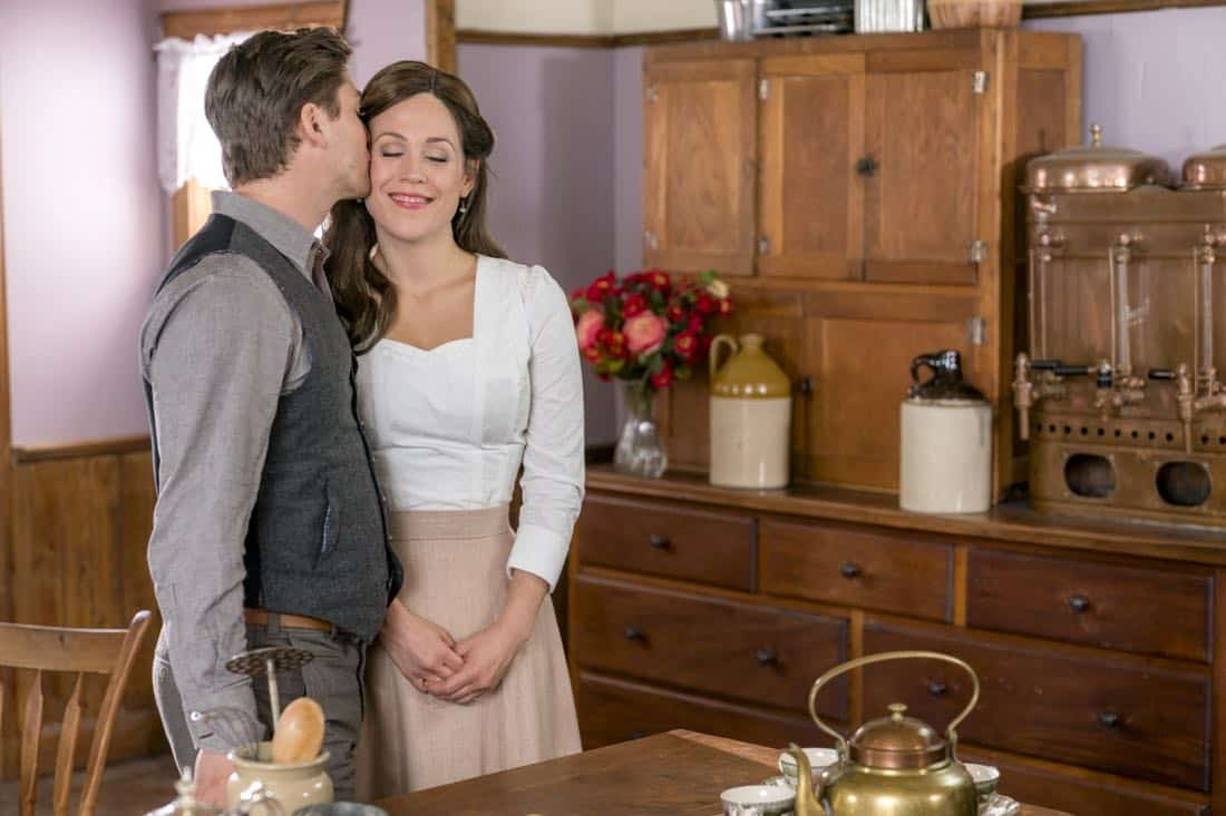 Jack and Elizabeth's plan to get married is put in serious jeopardy.  Bill has difficulties transporting a prisoner.  Photo: Daniel Lissing, Erin Krakow  Credit: Copyright 2018 Crown Media United States LLC/Photographer: Ricardo Hubbs