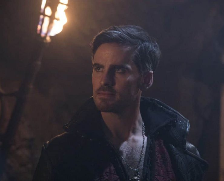 """ONCE UPON A TIME - """"Knightfall"""" - Rogers strikes a deal with Eloise despite Tilly's fair warning, while Ivy struggles to find herself after Victoria's death. Meanwhile, in a faraway realm, Hook confronts Captain Ahab over a legendary magical talisman which can free Alice, only to learn that his quest may have unintended consequences, on """"Once Upon a Time,"""" FRIDAY, MARCH 16 (8:00-9:01 p.m. EDT), on The ABC Television Network. (ABC/Jack Rowand) COLIN O'DONOGHUE"""