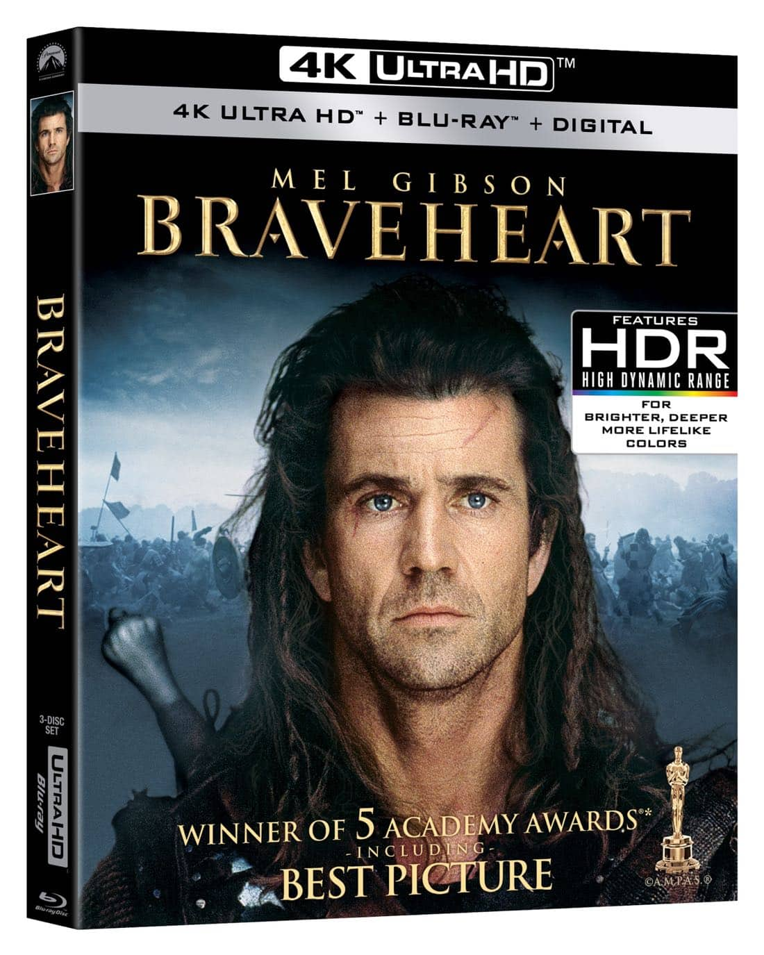 Braveheart 4K Ultra HD + Blu-ray + Digital