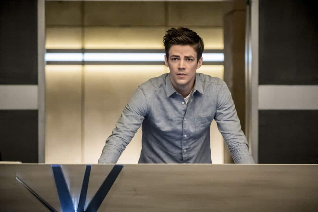 "The Flash -- ""Run, Iris, Run"" -- Image Number: FLA416b_0001b .jpg -- Pictured: Grant Gustin as Barry Allen -- Photo: Katie Yu/The CW -- © 2018 The CW Network, LLC. All rights reserved"
