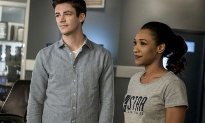 "The Flash -- ""Run, Iris, Run"" -- Image Number: FLA416b_0238bjpg -- Pictured (L-R): Grant Gustin as Barry Allen and Candice Patton as Iris West -- Photo: Katie Yu/The CW -- © 2018 The CW Network, LLC. All rights reserved"